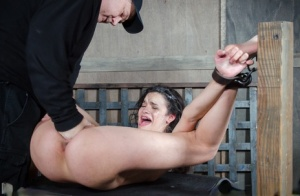 Dirty BDSM slut Eden Sin gets her mouth and throat brutally dicked 64818939