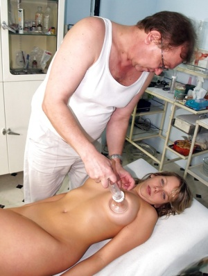 Fatty fetish blonde with big tits Candie gets her holes poked deep