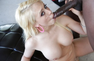 Interracial hardcore fuck featuring big tits cowgirl Lexington Steele