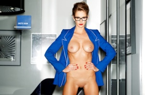 Emily Agnes likes to reveal her breasts and her wet pussy here