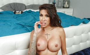 Sexy brunette Kayla Carrera fuck in a hardcore mode with big dick