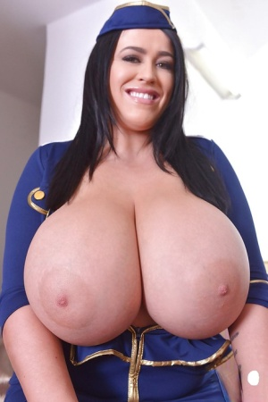 Busty European model Leanne Crow poses hot and plays with her nipples