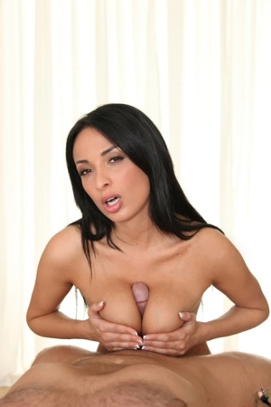 Unbelievably busty amateur Anissa Kate fucking hard before a creampie