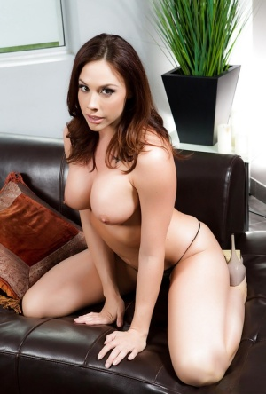 Busty MILF babe Chanel Preston showing off sexy pornstar legs and nice ass