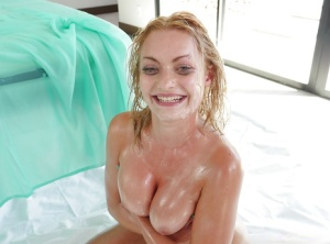 Rough anal experience for busty blonde whore Viktoria Valente