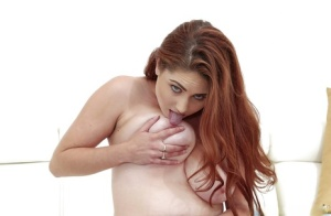 Busty Lennox Luxe amazes with premium nudity pussy fingering