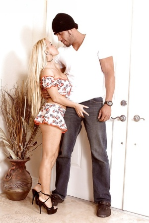 Holly Halston sensational Holly Halston couch fuked by step son and jizzed
