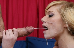 Super luscious blonde Sascha Sin favors a guy with a cock ride and a blowjob 17999254