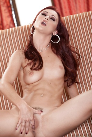 Seductive babe Karlie Montana uncovering her graceful curves